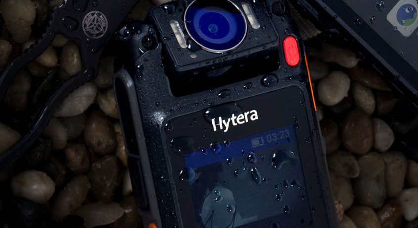 Hytera VM682 Remote Video Speaker Microphone